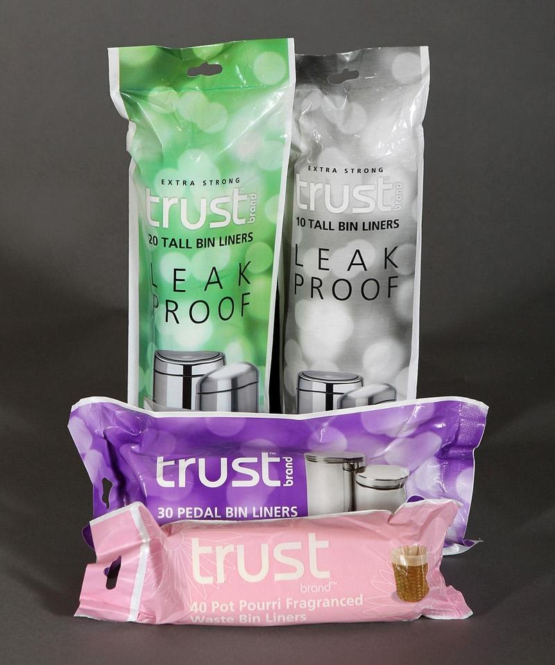 Trust brand bin liners