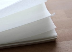 Baking paper sheets for caterers and food manufacturers