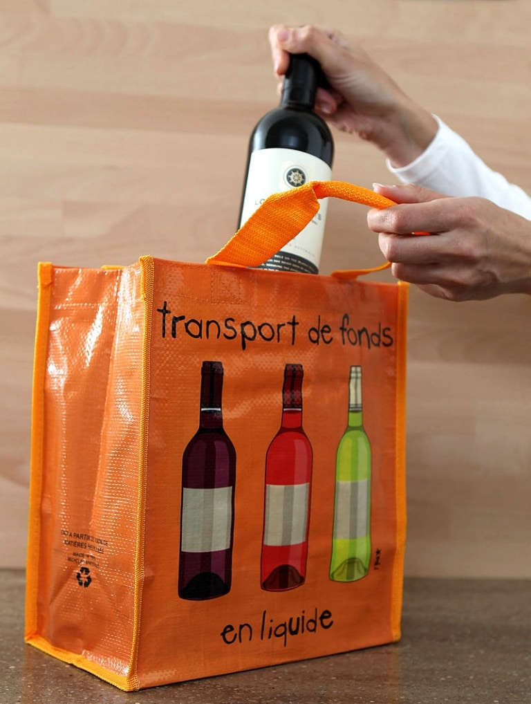 Bottle bags to safely carry 2 to 6 bottles
