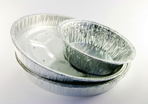 Foil cake and tart containers