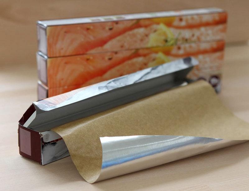 Foil parchment rolls