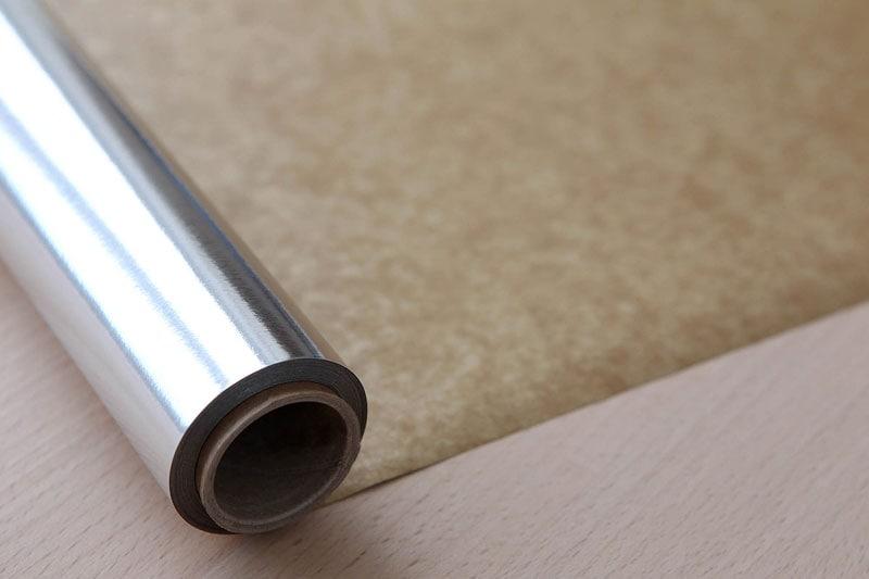 A range of foil parchment roll sizes