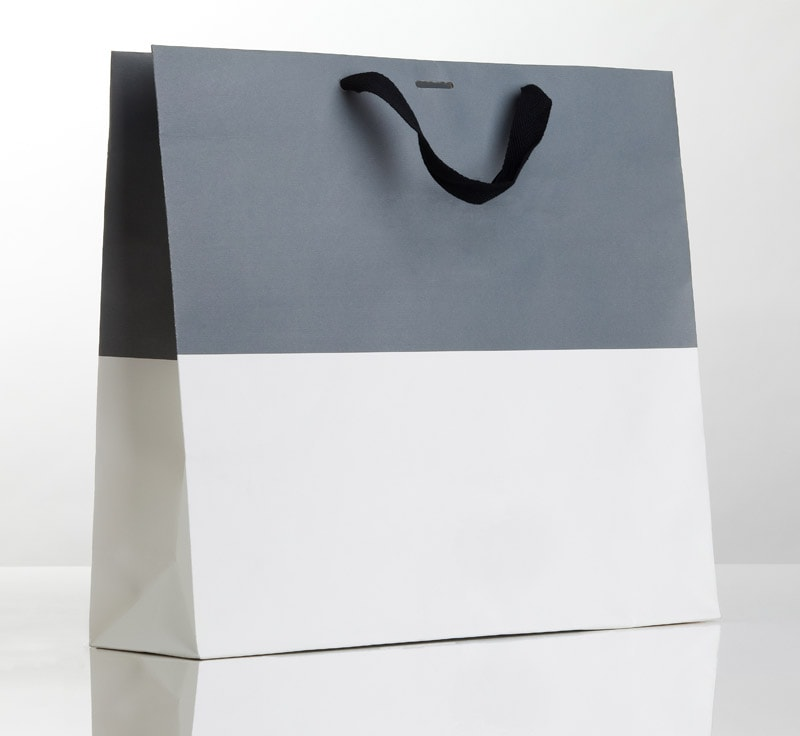 Luxury paper carrier bags