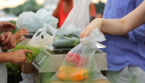 Branded or plain produce bags