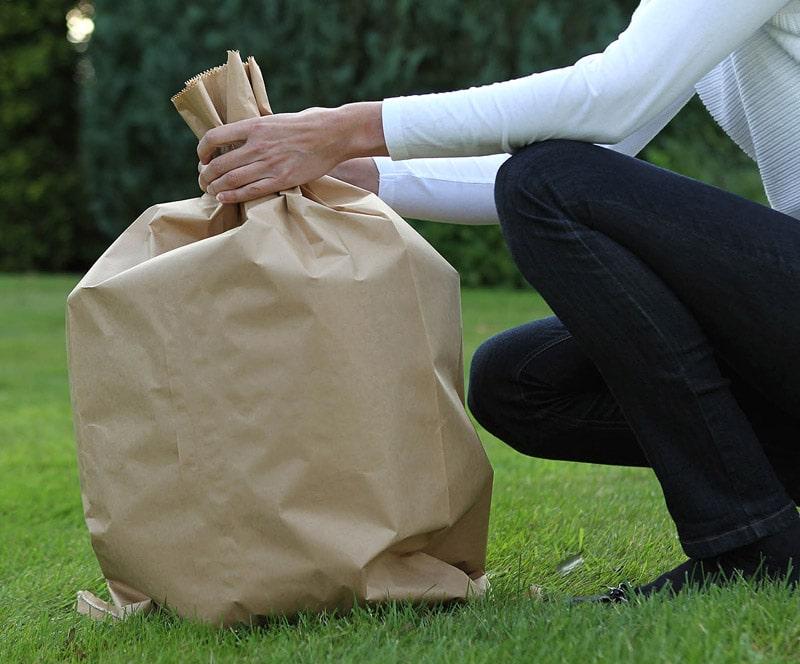 Paper waste sacks