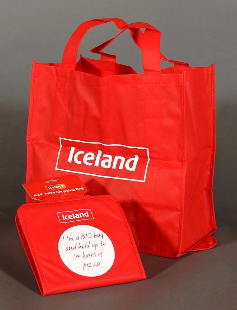 Fold-away shopping bag for life