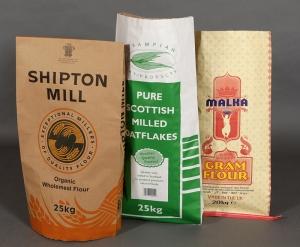 Food ingredient sacks