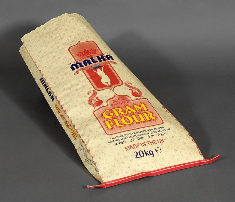 Food ingredient sacks for flour