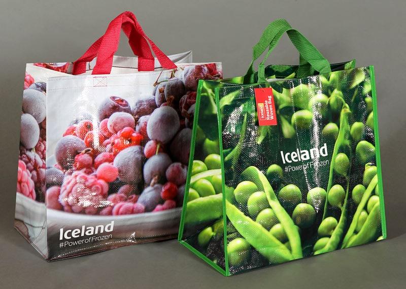 Reusable woven bag for life