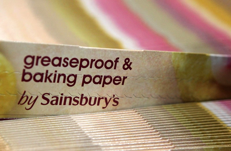 Greaseproof and baking paper for retailers