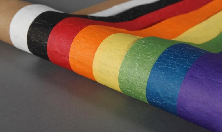 Paper sack crepe colour range