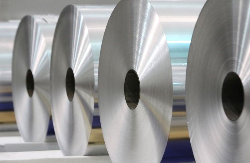 Foil jumbo rolls
