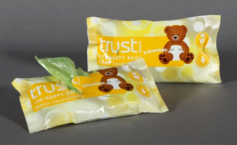 Trust brand nappy bags